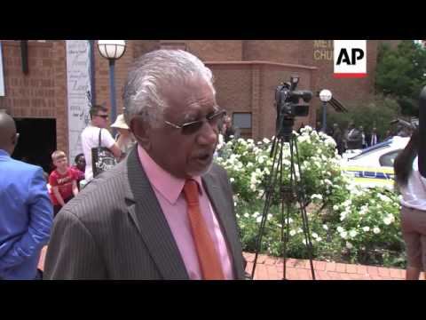 Winnie and Zuma leave church after prayer service, Mandela friend reax