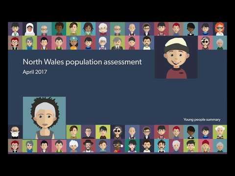 Asesiad poblogaeth Gogledd Cymru - North Wales Population Assessment
