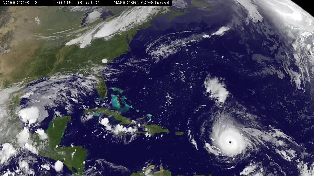 Satellite Animation Tracking Category Hurricane Irma YouTube - Satelite image