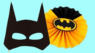 5 Diy Batman Party Decoration Accessories