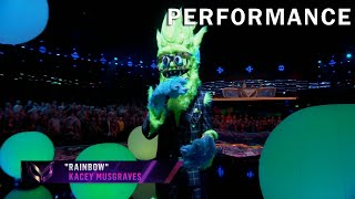 Thingamajig sings Rainbow by Kacey Musgraves | THE MASKED SINGER | SEASON 2