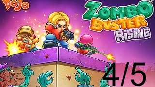 Zombo Buster Rising gameplay walkthrough (4-5)