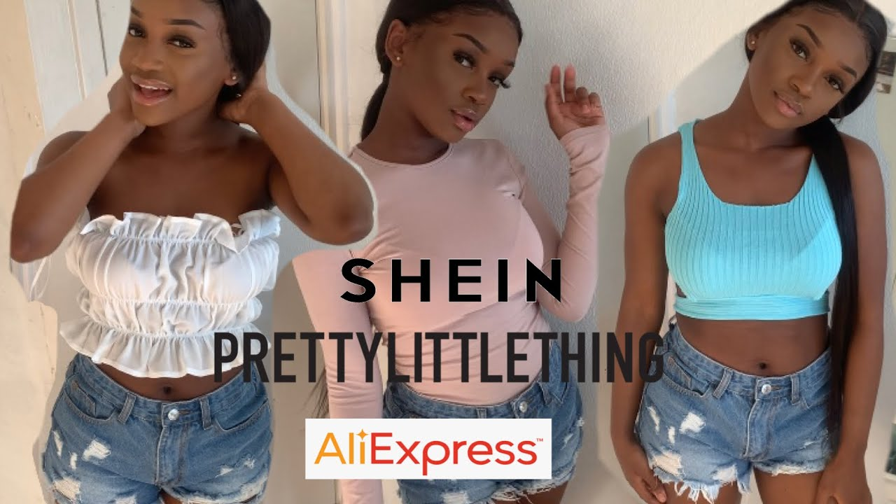 SHEIN, PRETTYLITTLETHING & ALIEXPRESS SUMMER TRY ON CLOTHING HAUL