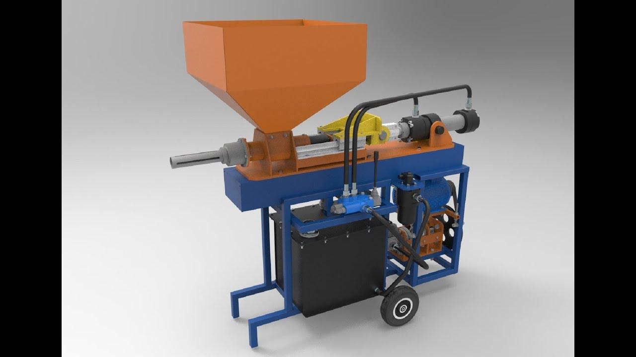 Мини пресс для топливных брикетов своими руками. Принцип работы и  комплектующие. Briquette press