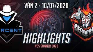 Highlights CES vs PER [Ván 2][VCS 2020 Mùa Hè][10.07.2020]