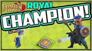 Royal CHAMPION! Clash of Clans NEW Hero on DEFENSE! TH13 Update!