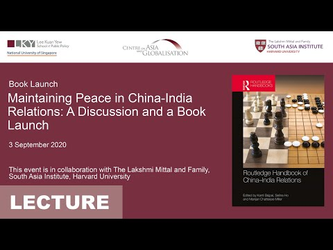 [Book Launch] Maintaining Peace in China-India Relations: A Discussion and a Book Launch