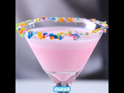 Birthday Cake Martini YouTube