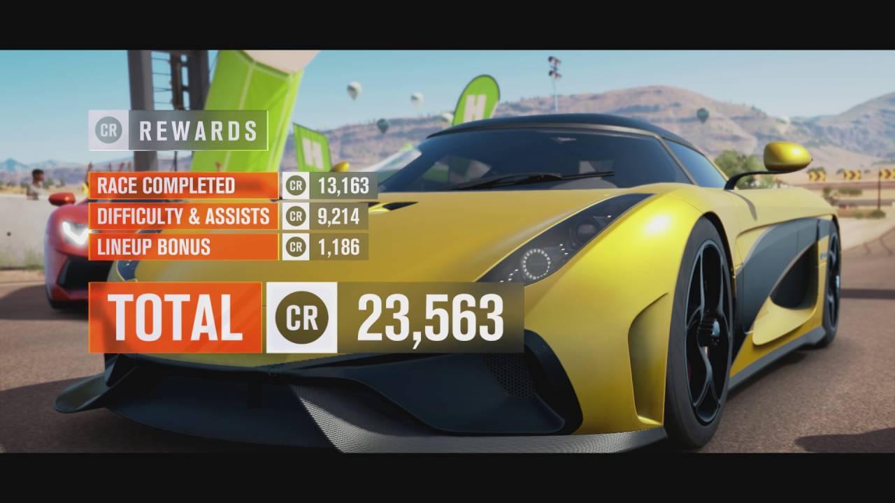 Forza Horizon Championship Hyper Endurance Hyper Cars Youtube