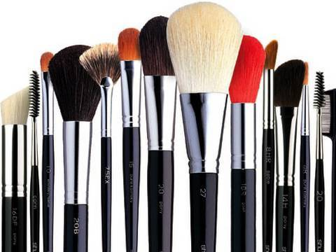 Image result for makeup brushes images