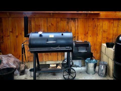 Oklahoma Joe Highland, the Oklahoma Joe Longhorn | New Baffle Plate | Pork  Ribs