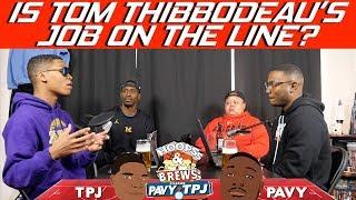 Is Tom Thibodeau's Job on the line? | Hoops N Brews