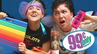 99 CENT GAYS with Hannah Hart   MILESCHRONICLES