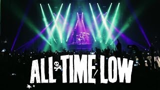 Смотреть клип All Time Low - The Irony Of Choking On A Lifesaver