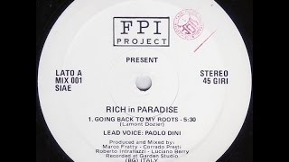FPI Project - Rich in Paradise (Original Version) / sound from vinyl 1989