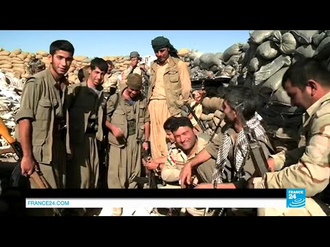 Iraq: on the frontline with Kurdish fighters struggling against Islamic State militants in Sinjar