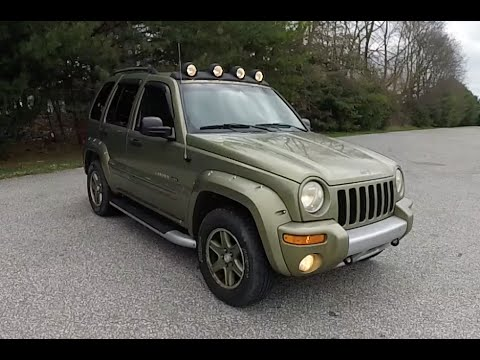 Lifted Jeep Renegade >> 2002 Jeep Liberty Renegade 4X4|18286A - YouTube