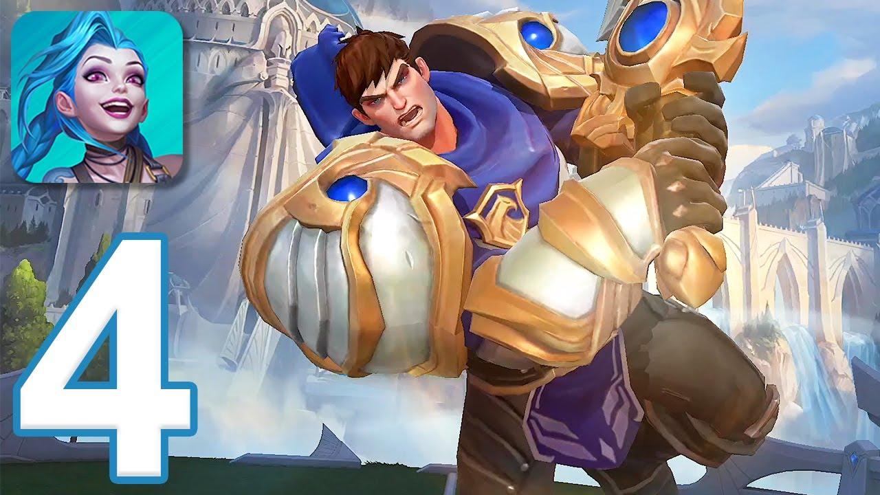League of Legends: Wild Rift - Gameplay Walkthrough Part 4 - Garen (iOS, Android)
