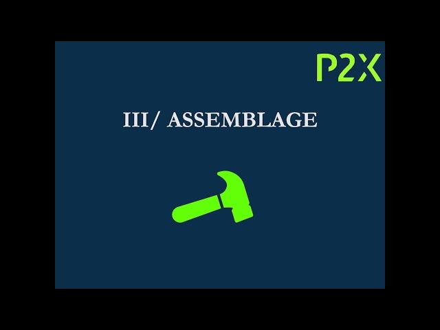 P2X - Construction d'un banc sur mesure