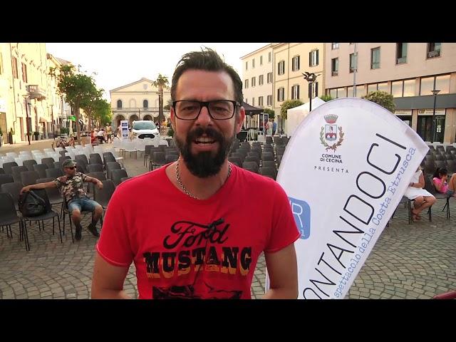 #Raccontandoci 2019 - VideoMagazine 2 - ven12 luglio Antonio Caprarica