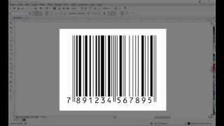 Como criar um código de barras usando o CorelDraw