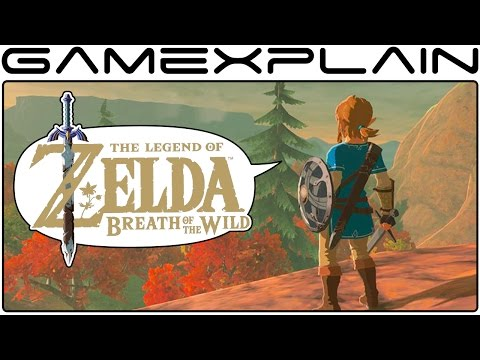 Zelda: BotW Update 1 - Fall Trees,  Link Concept Art, Snowboarding - Discussion (12.17.16)