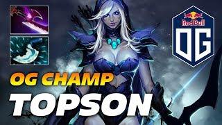 Topson Drow Ranger | OG CHAMP | Dota 2 Pro Gameplay