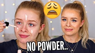 FULL FACE USING ONLY LIQUID PRODUCTS.. NO POWDER.. | sophdoesnails