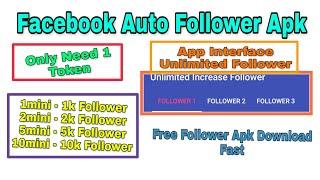 Facebook auto    1 click 10k aato follower