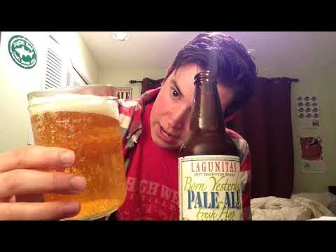 Lagunitas Brewing Co. - Born Yesterday  Fresh Hop Pale Ale Review (2017)