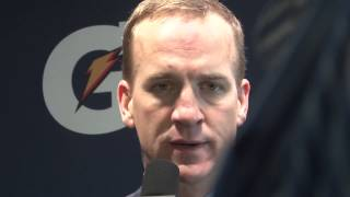 Super Bowl 2014 post game:  Peyton Manning - to call this embarrassing is insulting