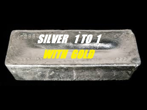 GOLD SILVER 1 TO 1 RATIO