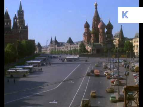 Late 1970s/ Early 1980s Moscow Red Square, Russia Archive Footage