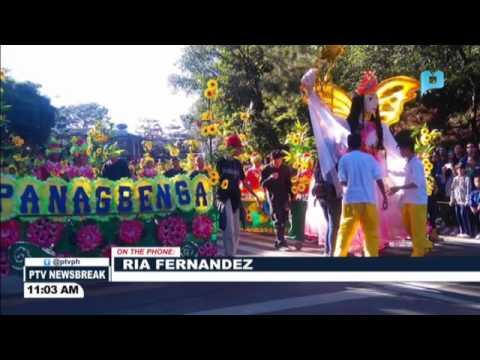 NEWS BREAK: Makukulay na kasuotan, traditional at modern music, tampok sa #Panagbenga2017 Dance Para
