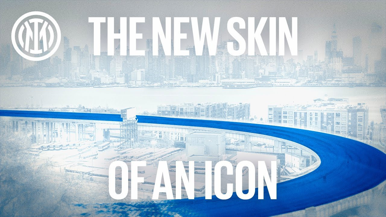 THE NEW SKIN OF AN ICON   THE NEW INTER AWAY JERSEY 21/22 🐍⚫🔵 #IMInternazionale #IMMilano