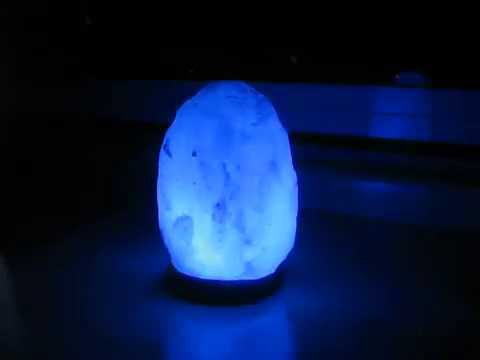 Himalita Authentic Himalayan Salt Lamp with LED light - YouTube