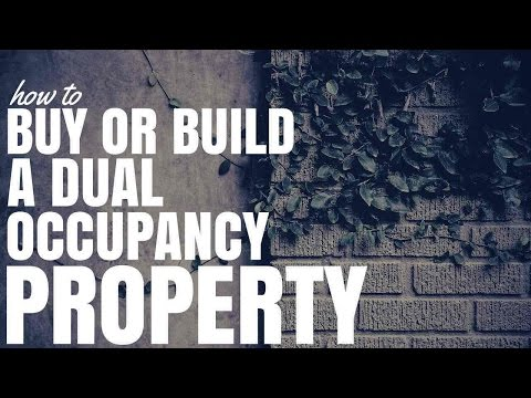 How To Buy Or Build A Dual Occupancy Property (Ep293)