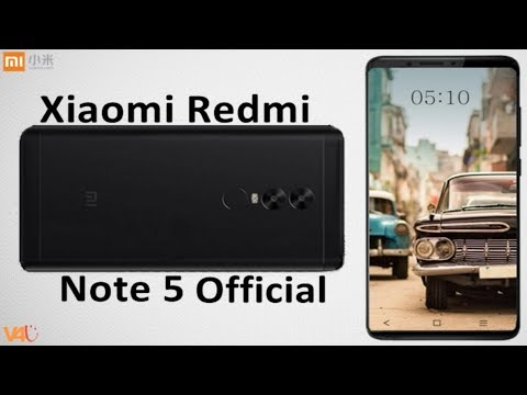 Xiaomi Redmi Note 5 Release Date, Price, Specifications, Camera, Features, First Look, Official