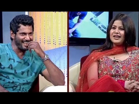 Natchathira Jannal - With Actor Vishal - Part 1