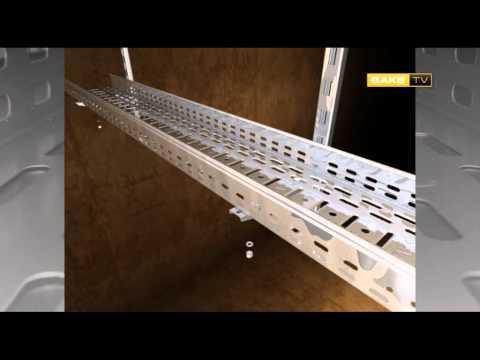 BAKS - видео инструктаж по системам кабельных трасс 5