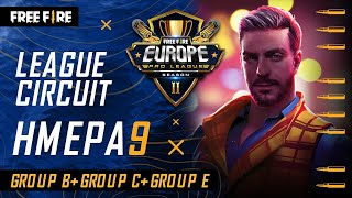 [GR] Free Fire Europe Pro League Season 2 - League Circuit Day 9