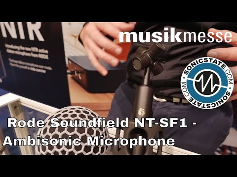MESSE 2018: Rode Soundfield NT-SF1 - Ambisonic Recording For The Masses!