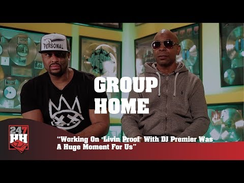 "Group Home - Working On ""Livin Proof"" With DJ Premier Was A Huge Moment For Us (247HH Exclusive)"