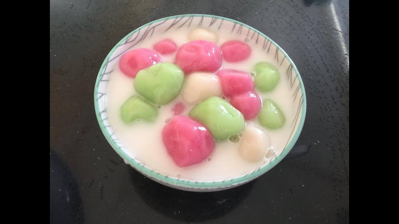 របៀបធ្វើបង្អែមអុី Foods How To Make Khmer Glutinous Rice Flour Dessert
