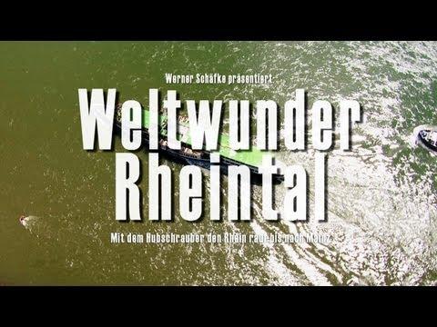 Der Rhein von oben - Weltwunder Rheintal in HD. DVD. 360° Helicopter-Camera