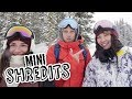 2 Girls, 2 Snowboards, One Challenge - Who Will Win? | Mini Shredits S2 E3