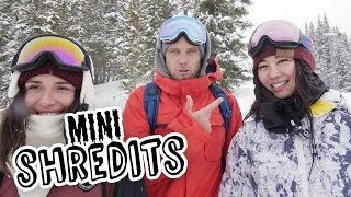 2 Girls, 2 Snowboards, One Challenge - Who Will Win? | MiniShredits S2 E3