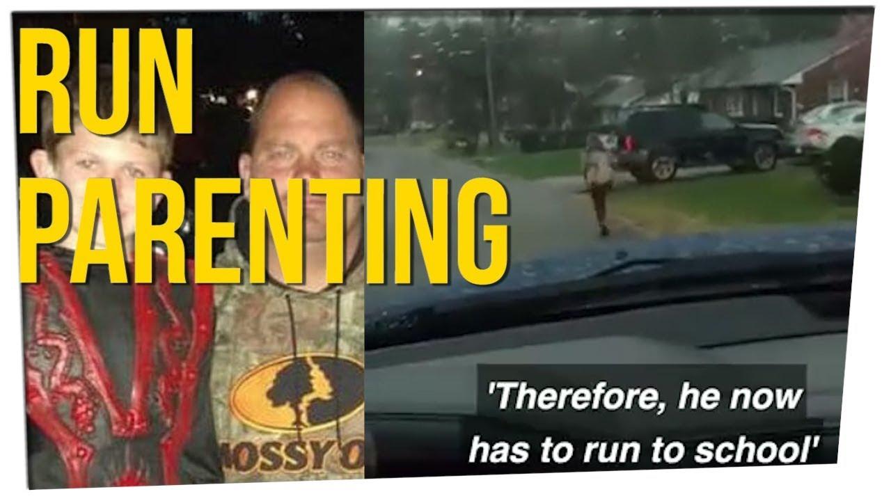 father-makes-10-year-old-run-in-the-rain-ft-steve-greene-davidsocomedy