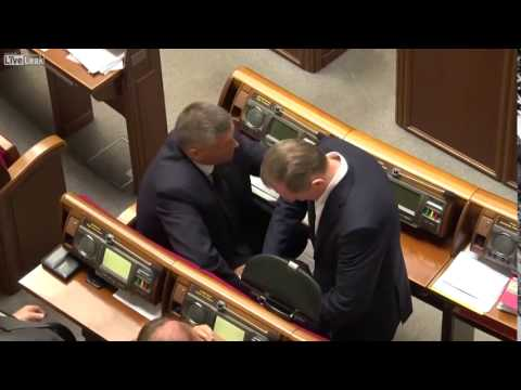 Drugdealers in Ukrainian Parliament