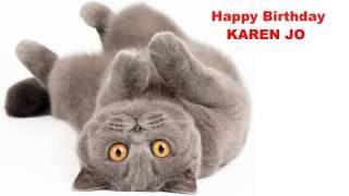 KarenJo   Cats Gatos - Happy Birthday